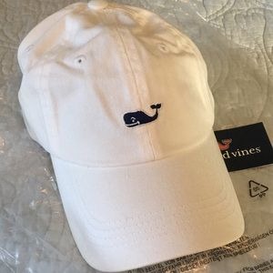 NWT Vineyard Vines Women's Ball Cap White